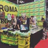 Troma booth at NYCC 2016. Photo by Michele Wtichipoo Oct. 2016.